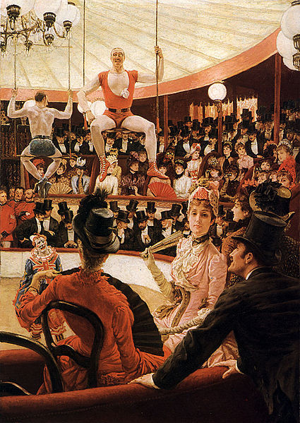luneriviere:  The Circus Lover, James Tissot (1885)