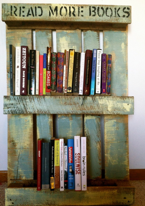 kathrynkayyy:  Repurposed Wood Pallets! Tutorial here.