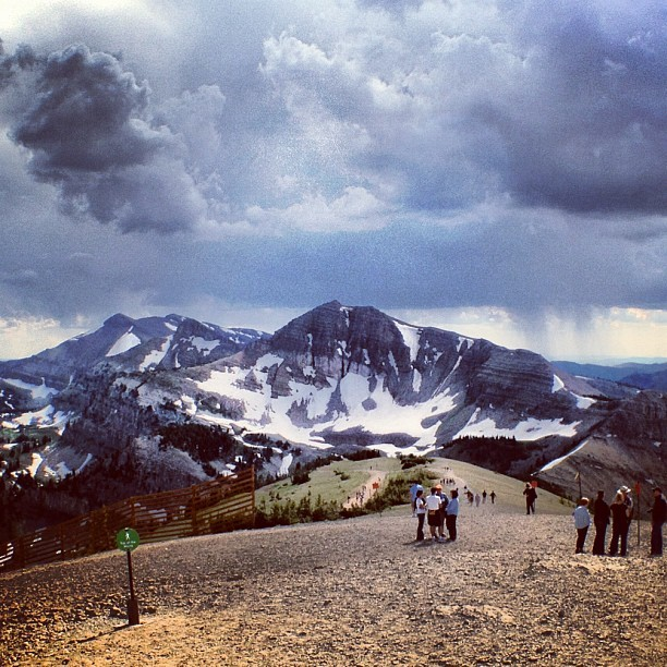 Top of the World (Taken with Instagram at Jackson Hole Mountain Resort)