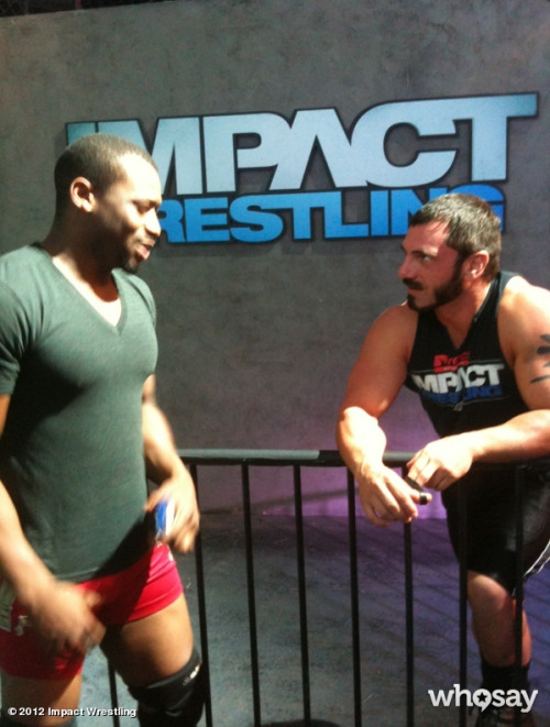 "Kenny King and Austin Aries - TNA Destination X 7/8/2012 With the PPV only a couple of hours away, there's been some buzz on the internet regarding Kenny King's appearance on the TNA show.  King is currently one-half of the Ring of Honor Tag Team Champions and his decision to ""cross the line"" has had several negative reactions from RoH fans and wrestlers. The negativity stems from the belief that King was undergoing contract negotiations but gave a handshake deal to remain with the company while things were sorted out. Ring of Honor considered King's appearance on the July 5th Impact Wrestling as a breach of their agreement and have started to cut all ties with him (Facebook posts deleted, King is still on the RoH site though). Since that appearance, Kenny King was pretty silent over the whole mess, until earlier today when he gave his side of the story on his Twitter page (which can be found in it's entirety after the break). [[MORE]] @KennyKingpinAnX:  ""My people's,  First and foremost to all of my friends, Family and everyone riding with me on this one thank you. The love and support has been unreal. It doesn't matter if your'e a new Kenny King fan or you've been with your boy since tough enough. My passion for this sport reflects yours, and I will continue to bust my ass to give back the love you have shown me. Second I would like to thank @ringofhonor for the opportunity To master my craft against some of the best wrestlers in the world. The last 4 years have been invaluable to my career. I have nothing but love and respect for the company that allowed me to find myself and grow as a wrestler.  Next, since the content of my character has been called into question, just ask about me. My integrity and HONOR has always been above reproach. But since they wanna talk bad about your boy, consider this…  (spoiler alert)  I was offered a contract extension, I had reservations about the parameters of the extension and effective my ""free agent"" option would be.  I gave a handshake agreement that I wouldn't do anything ""screwy"" with the belts. A la medusa.  I gave ROH information about every move that I made regarding working for @impactwrestling. Realistically they could have just found out when they saw my black ass walking down to the ring.  I was given a physical contact extension by ROH, which I respectfully declined to sign due to the reasons I stated above.  If I declined to sign an actual contract extension, how could anyone think there was a verbal agreement? I took the biggest gamble of my career this weekend. So going into destination X tomorrow night I am prepared to put it all on the line. I am especially grateful to @tnadixie and @impactwrestling for giving me the opportunity to showcase my skills on a bigger stage. I was given an amazing opening and I took it. Ask Eminem how many chances you get to blow up. The world will watch tomorrow, and I got a bag full of fireworks. Tomorrow is coronation day.  Thank you.  Kenny King"""