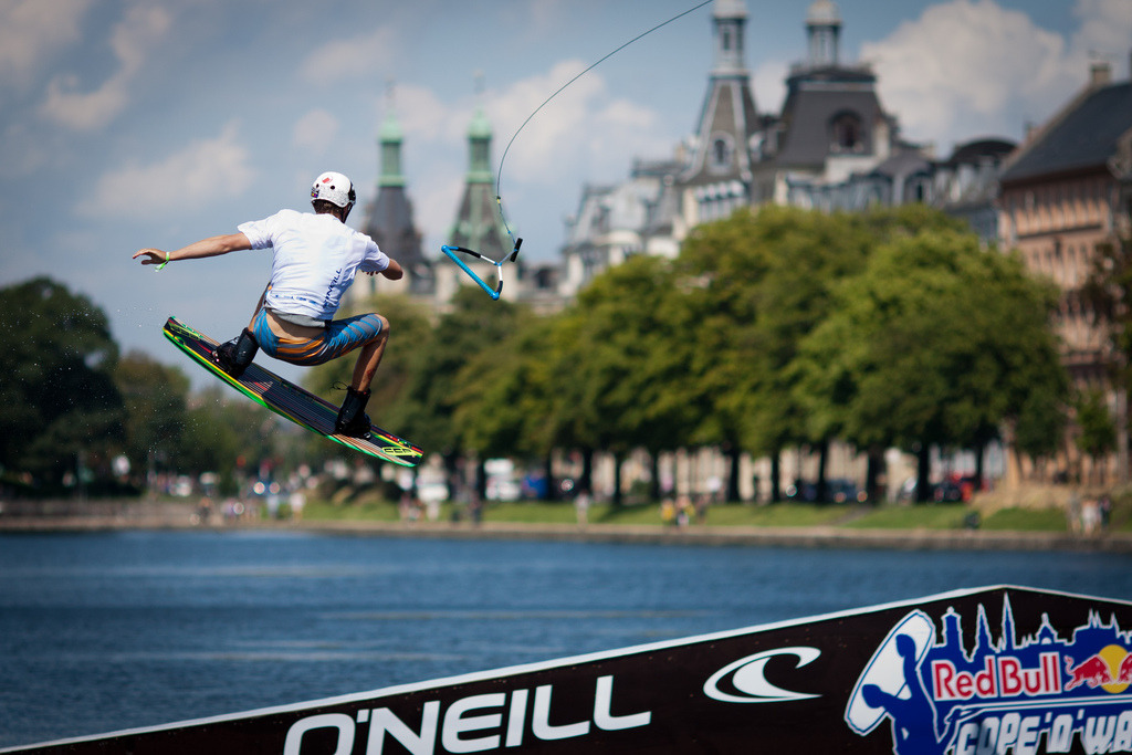 Wakeboarding in Copenhagen, Denmark. —from 8 ways to celebrate summer in Copenhagen (See the full list here)