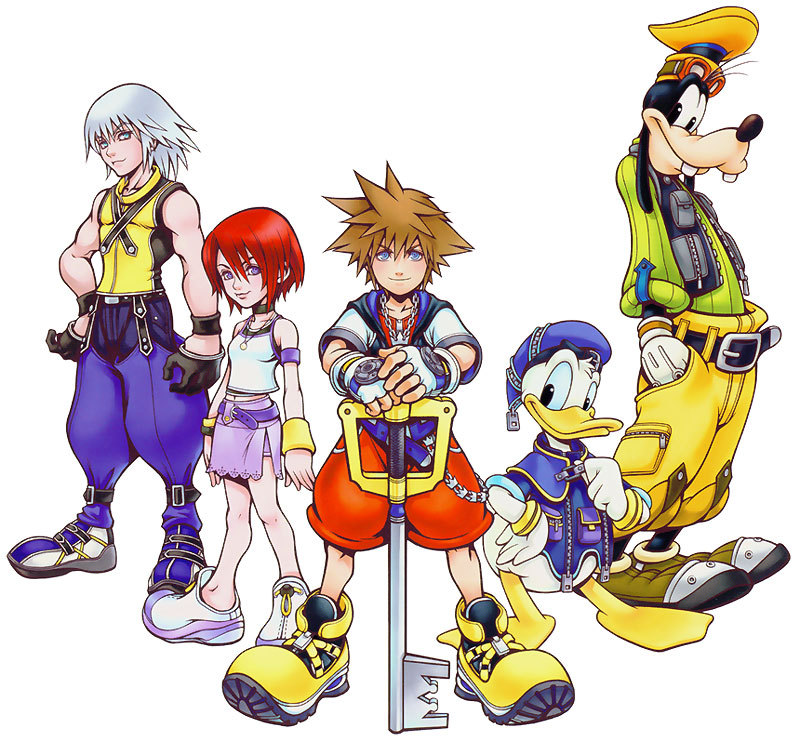 kingdom-hearts-is-my-life:  The originals!