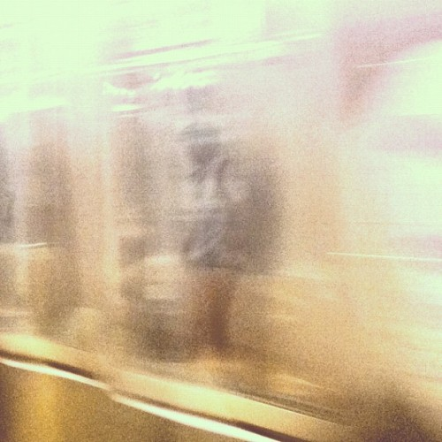 Ghostman: through the moving train (Taken with Instagram)