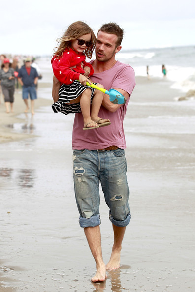Cam Gigandet & Everleigh (July 4)