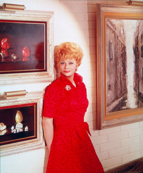 Lucille Ball photographed in the 1960s x