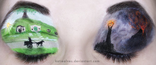 Lord of the Rings Eyes by =KatieAlves