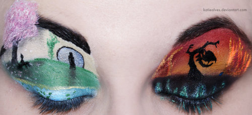 Mulan Eyes by =KatieAlves