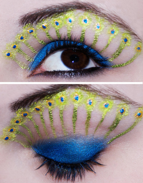 Peacock Eyes by =KatieAlves