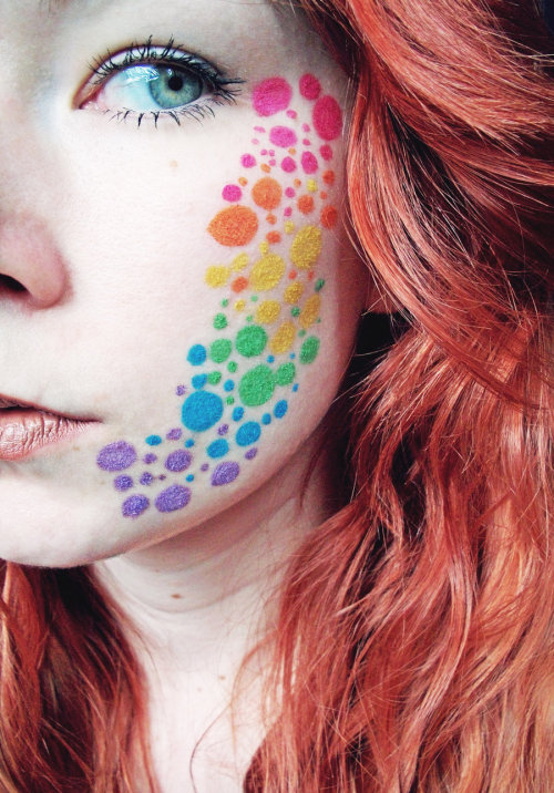 Rainbow Dots by ~Jennybicky
