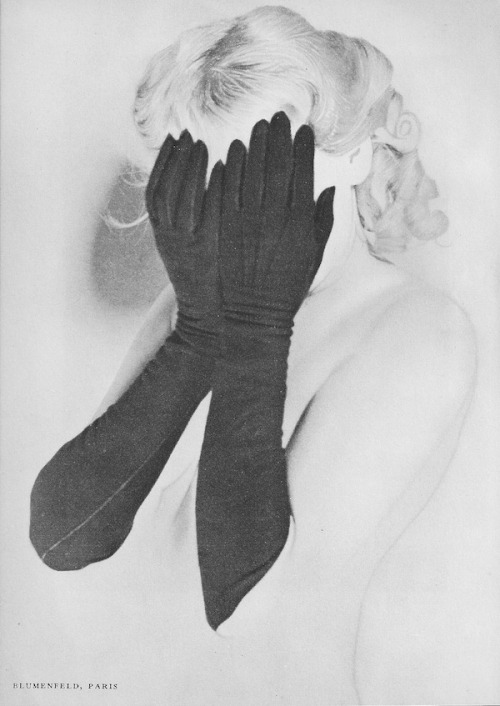 Hidden, (Erwin Blumenfeld)Coronet Magazine, May 1938 More of Blumenfeld's work in Coronet 1937-38