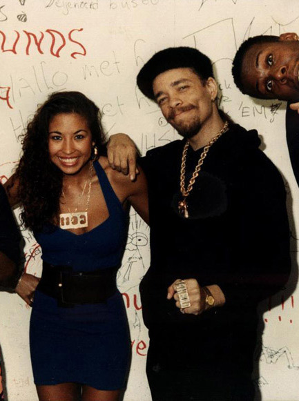 Ice T & first wife Darlene Ortiz