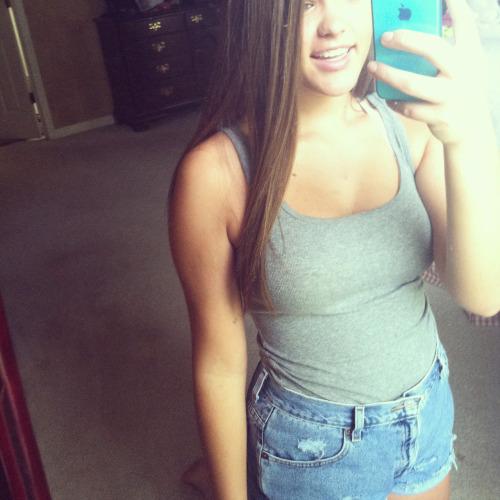 high waisted jean shorts on tumblr