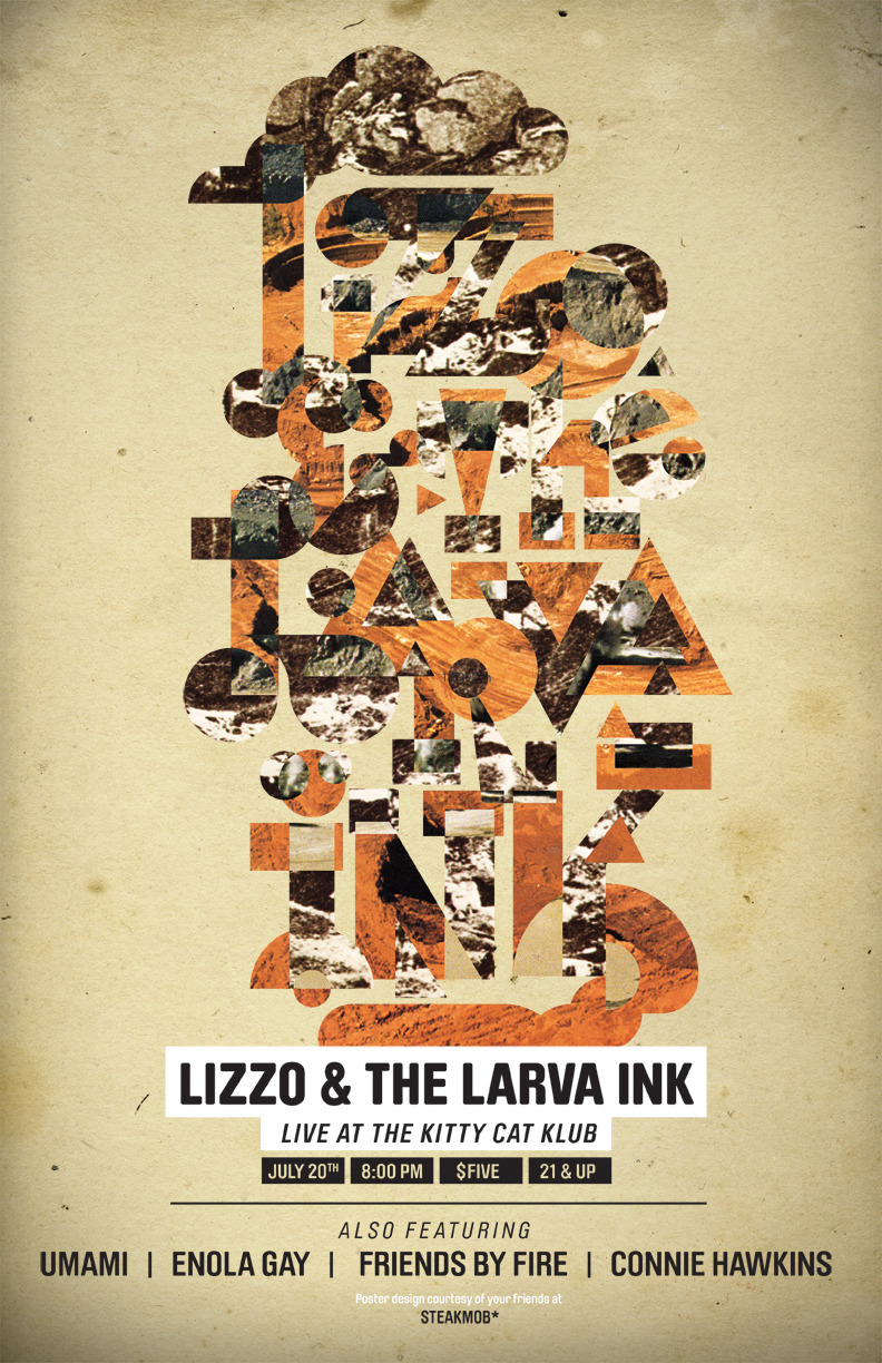 Lizzo & The Larva Ink - July 20th at KCK!