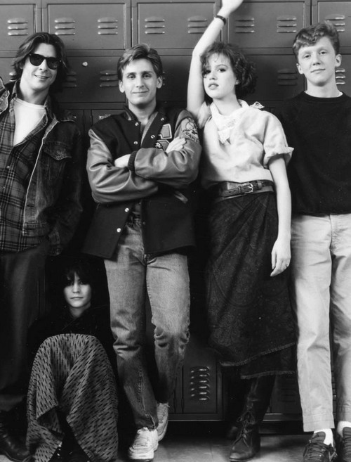 jamjarsing:   The Breakfast Club (1985)  best movie ever