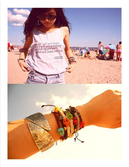 shopzhuu:  shop tshirts: PAINT.TEAR.WEAR.shop bracelets: jupiter & autumn. xoxox.   go go go!!!