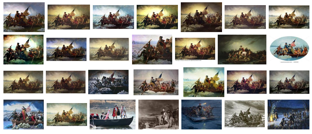 """Washington Crossing the Delaware,"" Google Image search by Rob Walker, June 24, 2012"