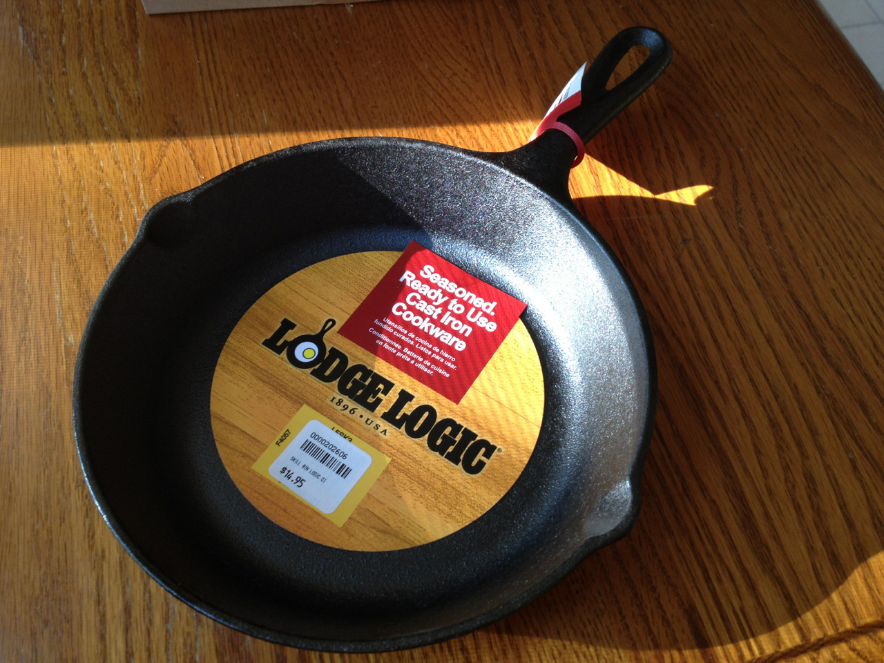 More cast iron for the collection. Best pans ever.