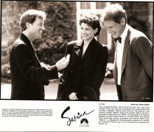 Greg Kinnear, Julia Ormond, & Harrison Ford