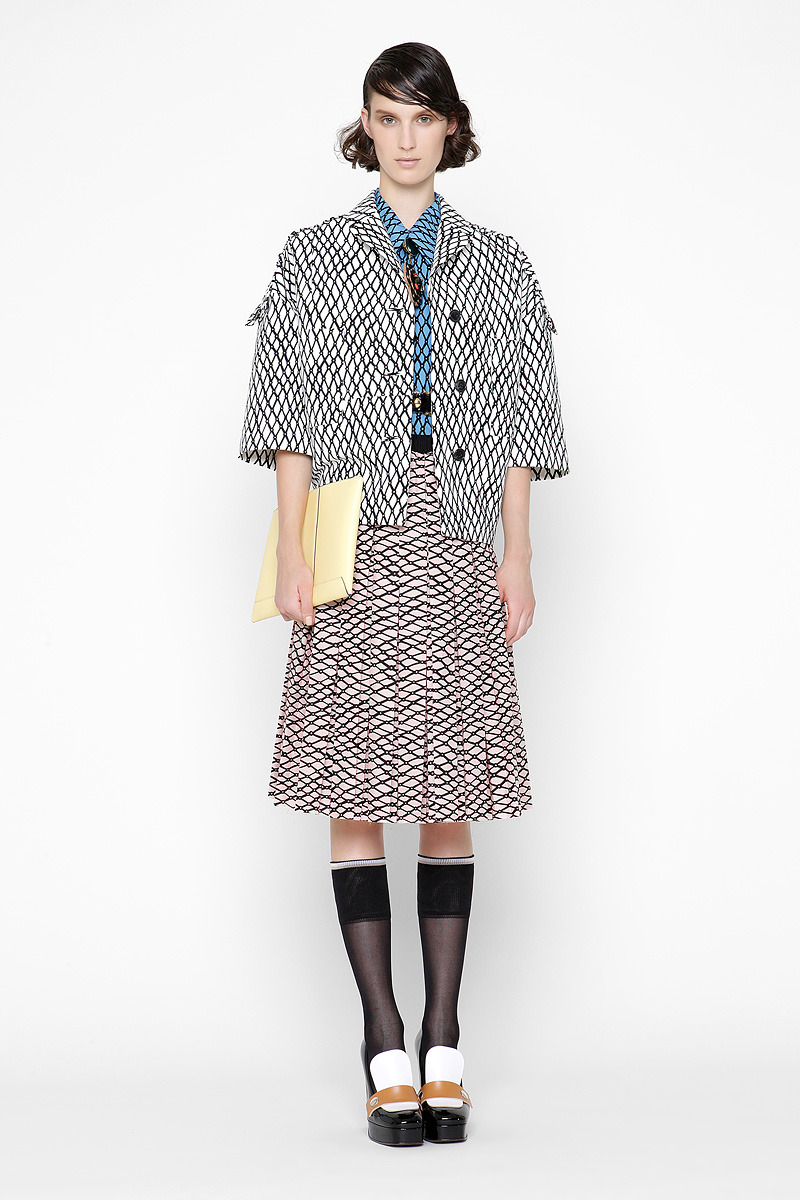 Marni Resort 2013 Me recuerda a Prada y a Kenzo. ….. Marni Resort 2013 Reminds me of Prada and Kenzo.
