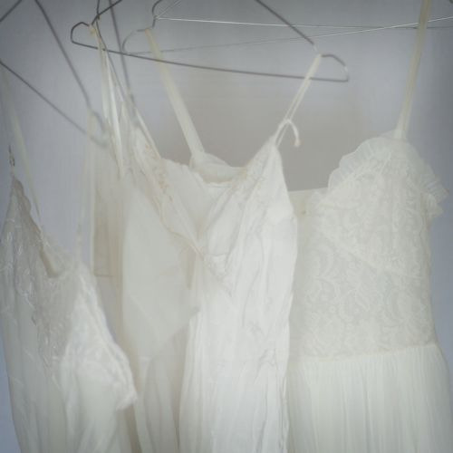the-whiteness-of-milk:  Whispery White Dresses .. by Berta… on Flickr.