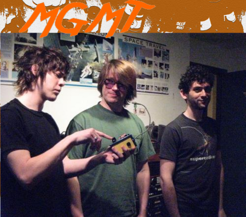 MGMT at Tarbox recording Oracular Spectacular, March/April 2007