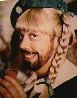 I know nothing about curry. Tim Curry? Sure. I know about that guy. He's a fantastic actor/scared me to death in Criminal Minds. Seriously, I can't even stomach those episodes. When he's on camera as Billy Flynn I dry heave. Clearly, he has mastered his craft. What I've not mastered is cooking with curry. I love curry. I order it while dining about. Tikki Masala gives me raging heart burn, but fuck if it doesn't feel great going past my taste buds. So, tonight I found a recipe for slow cooker chicken curry. It seemed simple enough. It had apples and bananas in it, which intrigued me to try it. I began dicing my vegetables and fruits. Things were going well. I was listening to some Black Keys on mah spotify and singing along to the sweet falsetto of Dan Auerbach. There was a storm a-brewin' outside, so I was feeling extra whimsy in the kitchen. I saw lightning. Then thunder struck.* That shit rattled the building and I sliced my finger on the knife. I proceeded to get mildly depressed as I compressed the cut on my hand. Sometimes I think it would be really awesome to be on Top Chef. I don't have any prerequisites except that I served tables and tended bar in college and regularly ate a shift meal. Those chefs would never want me on their team. I don't knife right. Or well.  I got over my case of the sads and started cutting the onion. Cried, that little asshole was ripe. Then I cut the jalepeno. THEN, I decided to wipe my tears. Spoiler alert: KITCHENING 101 states that you never never ever wipe your tears after touching jalepenos.  Then I flushed my right eye for 4 minutes. Capsaicin is no friend of mine. Then I tripped on my maxi dress. I normally don't dress up to cook, but I had a pretty VIP 1 year old's birthday party to attend today and maxi dresses are comfortable like jammies, so naturally I left it on. After being treated like a battered wife by my own kitchen, I got everything into my crock pot and set it to high. Then I realized that curry comes in powder form, and I used some janky ass sauce from the Publix ethnic aisle.** Needless to say, I think I did curry wrong. From now on, I'll stick to Tim Curry. He has a pleasant accent, has never physically assaulted me, and was AWESOME in Clue.*** *Thunderstruck is the only good song by AC/DC. I once served Brian Johnson (who hasn't in Sarasota?) and he tipped me really well so I feel like I have to throw him a bone. Hey, Brian Johnson, work on better music. Start with Thunderstruck as a platform and build from there. YOU'RE SO VERY WELCOME FOR MY ADVICE, I HOPE YOU LIKED THE CRABCAKE AT BARNACLE BILL'S. **My Indian friend will probably read this and chastise me. And that's fine. I'll ask her to cook me a steak, medium rare. It'll probably taste worse than most cow carcass as she is vegetarian and doesn't know anything about the temperature of meat. ***If you've never seen clue, lock it up. It has everything you need in a campy thriller. Sex, murder, and Tim Curry as the UN SUB (I can feel detective Hotchner nodding with approval as I typed that..). Spoiler alert #2: I just ruined the movie.