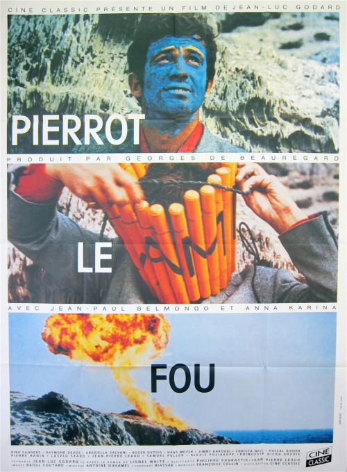 traduire:   Pierrot le fou, dir. Jean-Luc Godard  oh god oh god oh god i can't… handle it