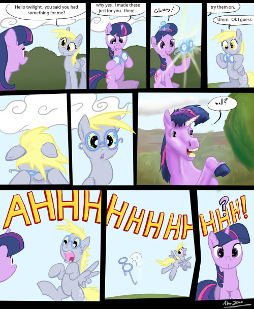 huffythemagicdragon:  Derpy's glasses by ~Abrr2000