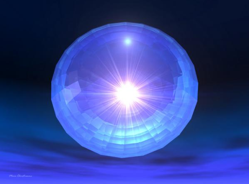 The crystalline machine orbs are oracles for higher dimensional realms of reality.