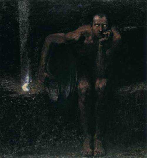 """Lucifer"" by Franz Von Stuck"