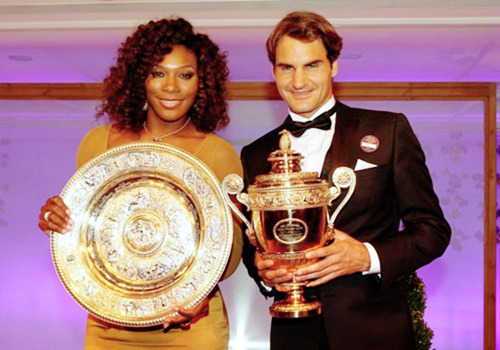 The 2012 Wimbledon Champions!