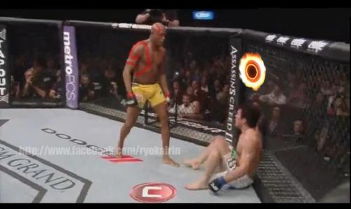 girlsofwar:  Anderson Silva versão God of War Por Bruna Torres