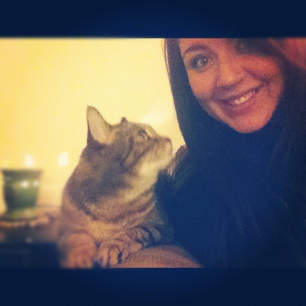 cinnasugar ❤ #meow (Taken with Instagram)