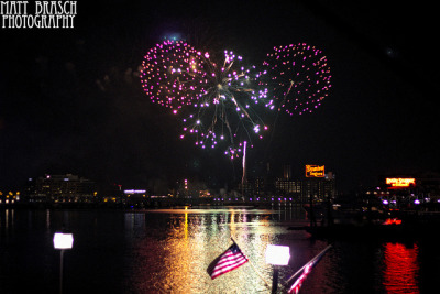 Independence Day 2012 on Flickr.This photograph was taken of the fireworks display over the inner harbor in Baltimore, MD on July 4, 2012. Photograph shot by Matt Brasch. Camera: Canon EOS Rebel T3i Lens: Canon 50mm f/1.8 Focal Length: 35 F Number: 2 Shutter Speed: 1/80