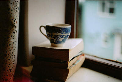 gretelitaa:  Sustenance; tea & literature.   Books & tea. Do you need anything else in life?