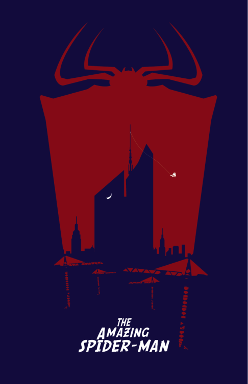 fabiocs:  #AmazingSpiderMan Final Poster Prints |  Follow me in FB  |  Behance (for the process and references of the final posters)   |  Deviant  | Twitter