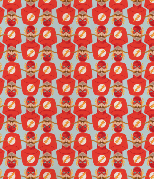 FLASH MUSTACHE pattern by JTO