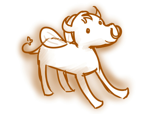 31 days of Homestuck Day 8 - Fave Lusus: Tinkerbull