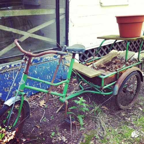 Tractor #bicycle  (Taken with Instagram)