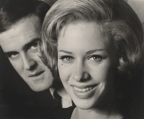 John Cleese & Connie Booth, 1968 photographed by Lewis Morley