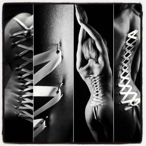 Collage of one of my corset pieces #POKT #Poktpiercings #pain #corset #corsetpiercing #beautiful #beauty #upclose #lace #piercings #bodymodifications  #bodymod #differentstylesofbeauty #model #woman #photography #photoshoot #2011 #playpiercings #temporary #stunning #art #naked #womansbody #sexy #portfolio #sanjose @porcelaindoll23 #blackandwhite #pain  (Taken with Instagram at San Jose)