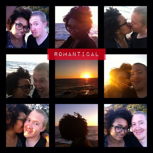 Romantical…. @nerdydani  (Taken with Instagram at Aliso Beach)