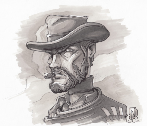 "Guess who's next?!?! ""Monco"" of a ""For a few dollars more""Promarker."