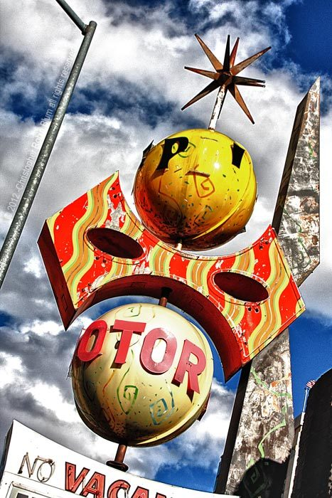 "Yellow Ball (part of the ""Signs of Neon"" series) © Copyright - 2012 - All rights reserved To see more of my work please check out my other web sites http://www.twotone.net/ www.facebook.com/crblumphoto"