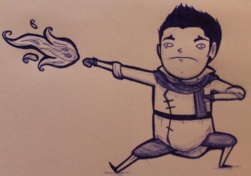 I AM MAKO WATCH OUT I MAKE FIRE WITH HANDS I AM SO SMOKIN HOT WOW