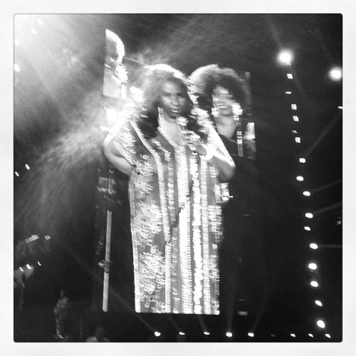 All Hail the Queen! #essencefest  (Taken with Instagram)