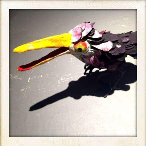 One last #bird #sculpture … #art from the #NewMuseum  (Taken with Instagram at new museum )