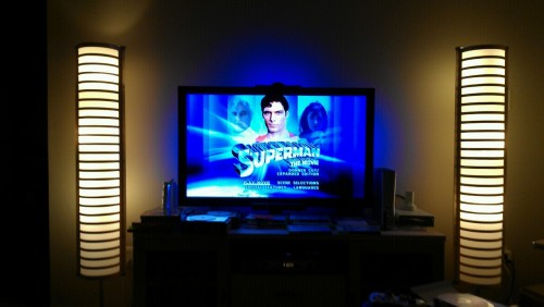 Introducing the roommate to Superman. Watching Superman The Movie 2000 Directors Cut/Expanded Edition … I've not seen this version … It will be sort of new for me too.