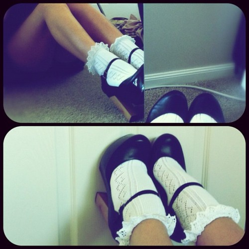 Cute shoes and socks!