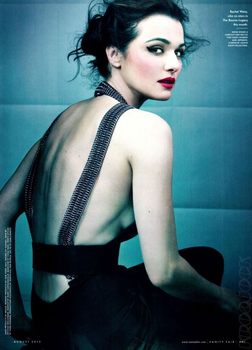 bohemea:  Rachel Weisz - Vanity Fair by Craig McDean, August 2012